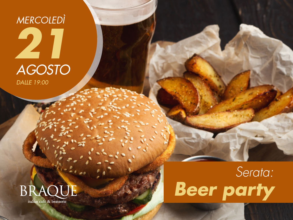 21 Agosto, Beer Party